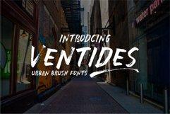 Ventides | Urban Brush Fonts Product Image 1