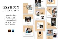 Fashion Instagram Feed Vol. 1 Product Image 1