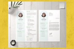 Modern and Minimalist Resume Template CV Vol.2 Product Image 3