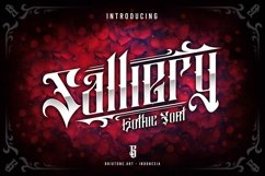 Salliery | Gothic font Product Image 1
