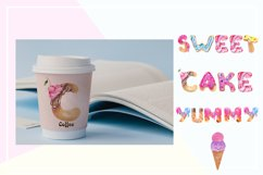Sweet alphabet. Watercolor letter Product Image 6