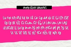 Happy Heart- Smooth Handwritten Font for Crafters Product Image 3