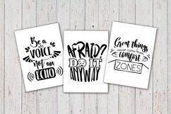 8 Hand Lettered motivation quotes bundle svg Product Image 2