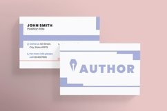 Author Business Card Product Image 2