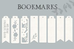 8 Bookmarks SVG cutting files Product Image 1