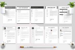 Best Selling Bundle 10 CV & Resume Templates Product Image 2
