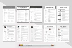 Best Selling Bundle 10 CV & Resume Templates Product Image 3