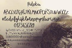 Hidoku Script Typeface Product Image 5