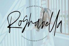Web Font Roshbella - Beauty Handwritten Font Product Image 1