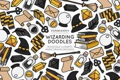 Wizarding Doodle Cliparts Bundle Product Image 3