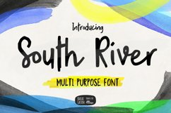 South River Font Product Image 1