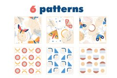 Modern abstract set & butterflies Product Image 11