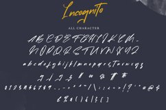 Incognito   Marker Font Product Image 6