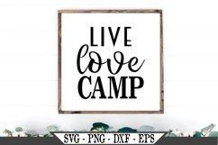 Live Love Camp SVG Product Image 1