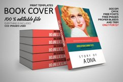 Novel Book Cover Template Product Image 1