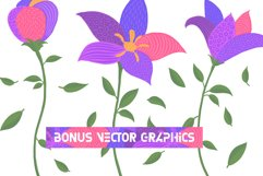 Florry font & illustrations Product Image 5