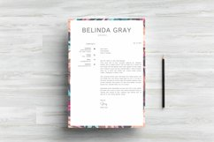 Modern Resume Template CV Design Product Image 5