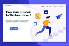 Next Level Business landing page design Product Image 1