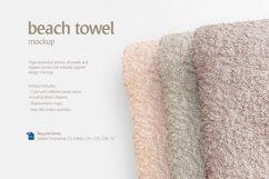 Beach Towel Mockup Product Image 2