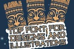 Web Font Hawaiian Tiki Island Font Product Image 3