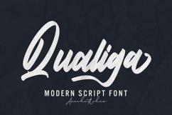 Qualiga - Script Font Product Image 1