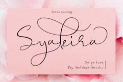 Syakira Script Product Image 1