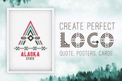 Tribal Aleut OTF color font.  Product Image 2