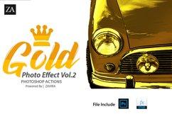 Gold Photo Manupulation Action  Product Image 1