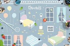 Cute Animals Pajama Party - Illustrations & Invitations Product Image 3