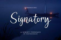 Web Font Signatory Product Image 1