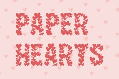 Paper Hearts Product Image 1
