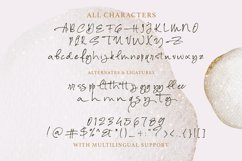 Alessia Harvey - Signature Font Product Image 4