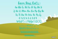 Farm Days Out - A Cute Handwritten Font. Product Image 5