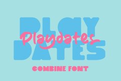 Playdates Fonts Product Image 1