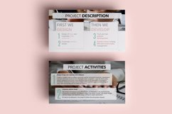 PPT Template | Project Proposal - Pink and Marble Round Product Image 5