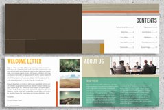 22 Page Corporate Annual Report Brochure Booklet Product Image 2