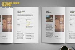 DEV Brand Design Proposal Template Product Image 4