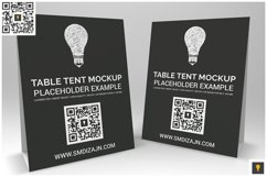 Table Tent Mockup Product Image 6