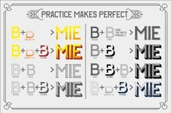 Web Font The BIGMAN Font Collection Product Image 3