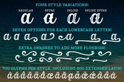 Orchid Key - a four-font family with alternates galore! Product Image 2