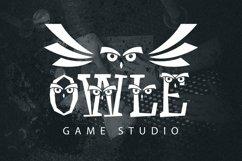Web Font Sullen Owl Font Product Image 4