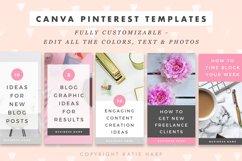 Pinterest Canva Templates - Lady Boss Product Image 4