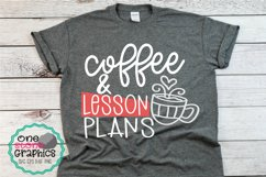 Coffee and lesson plans svg,teacher svg,teacher svgs,coffee Product Image 2