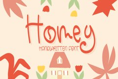 Homey - Cute Handwritten Font Product Image 1