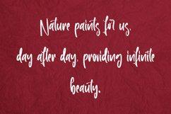 Roselle Leaves - Handwritten Font Product Image 3