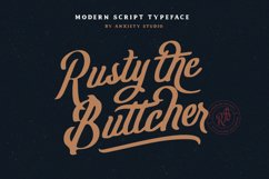 Rusty The Buttcher - Extra Product Image 1