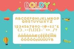 Web Font Boldy Product Image 4