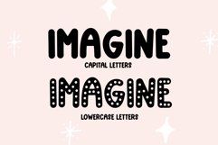 Web Font Too Cute- Fun and Chunky Handwritten Font Product Image 2