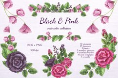 Black & Pink Product Image 1