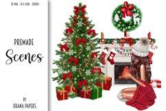 Fashion CHRISTMAS Girl Illustration Product Image 7